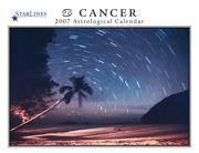 Cover of: Cancer 2007 StarLines Astrological Calendar | Jeff Adams