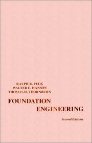 Cover of: Foundation engineering
