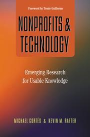 Cover of: Nonprofits and Technology | Michael Cortes; Kevin M. Rafter