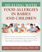 Cover of: Dealing with Food Allergies in Babies and Children