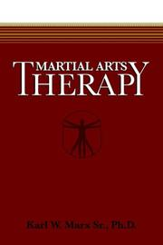 Cover of: Martial Arts Therapy