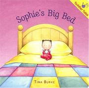 Cover of: Sophie's Big Bed (Toddler Tales) (Toddler Tales)