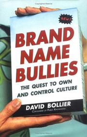 Cover of: Brand Name Bullies | David Bollier