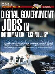 Cover of: Digital Government Jobs
