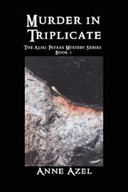 Cover of: Murder in Triplicate | Anne Azel