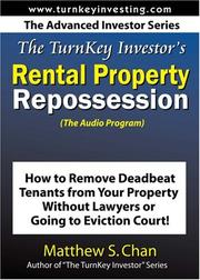 Cover of: The TurnKey Investor's Rental Property Repossession (The Audio Program)