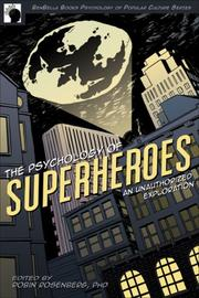 Cover of: The Psychology of Superheroes
