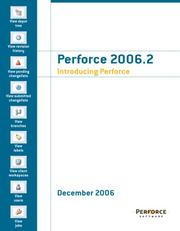 Cover of: Perforce 2006.2 Introducing Perforce | Perforce Software