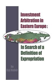 Cover of: Investment Arbitration in Eastern Europe