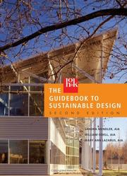 Cover of: The HOK guidebook to sustainable design | Sandra Mendler