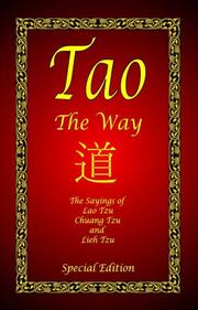 Cover of: Tao - The Way | Laozi
