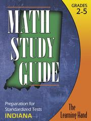Cover of: Math Study Guide, Indiana Standardized Tests | The Learning Hand