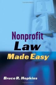 Cover of: Nonprofit Law Made Easy