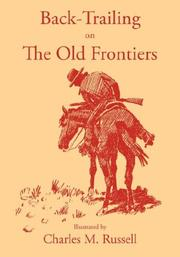 Cover of: Back-Trailing on the Old Frontiers