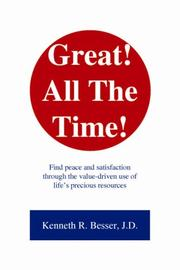 Cover of: Great! All the Time! | Kenneth R. Besser