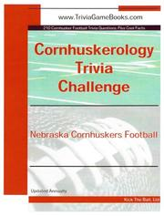 Cover of: Cornhuskerology Trivia Challenge | Kick The Ball