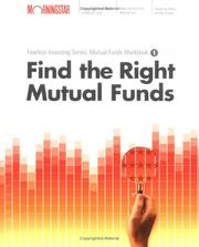 Cover of: Find the Right Mutual Fund  | Christine Benz