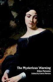 Cover of: The Mysterious Warning