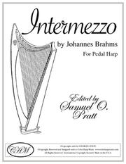 Cover of: Intermezzo, Op. 117 For Pedal Harp