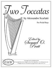 Cover of: Two Toccatas for Pedal Harp