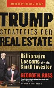 Cover of: Trump Strategies for Real Estate | George Ross