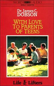 Cover of: With Love to Parents of Teens