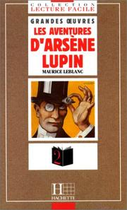 Cover of: Les aventures d'Arsene Lupin