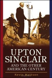 Cover of: Upton Sinclair and the other American century