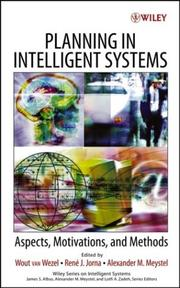 Cover of: Planning in intelligent systems