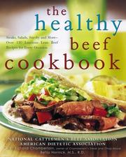 Cover of: The healthy beef cookbook |