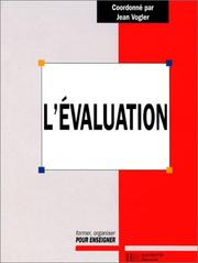 Cover of: L'évaluation