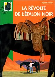 Cover of: La Révolte de l'étalon noir