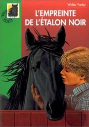 Cover of: L'Empreinte de l'étalon noir