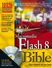 Cover of: Macromedia Flash 8 Bible