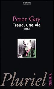 Cover of: Freud, une vie, tome 2