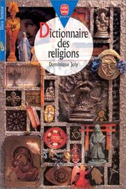 Cover of: Dictionnaire des religions