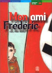 Cover of: Mon ami Frédéric by Hans-Peter Ritcher