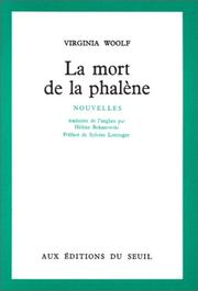 Cover of: La Mort de la Phalène