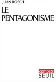 Cover of: Le Pentagonisme