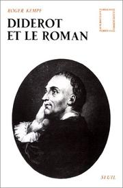 Cover of: Diderot et le Roman