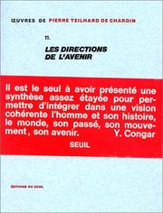 Cover of: Oeuvres, tome 11: Les Directions de l'avenir