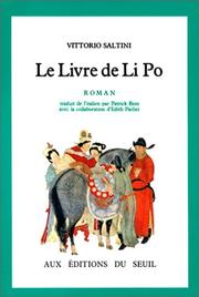 Cover of: Le livre de Li Po