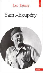 Cover of: Saint-Exupéry