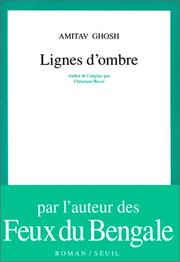 Cover of: Lignes d'ombre