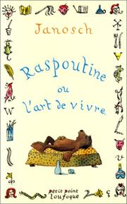 Cover of: Raspoutine, ou, L'art de vivre