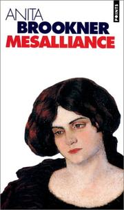 Cover of: Mésalliance