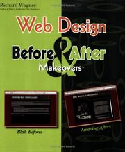 Cover of: Web Design Before & After Makeovers (Before & After Makeovers)
