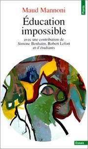 Cover of: Education impossible