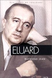 Cover of: Eluard