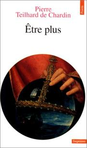 Cover of: Etre Plus